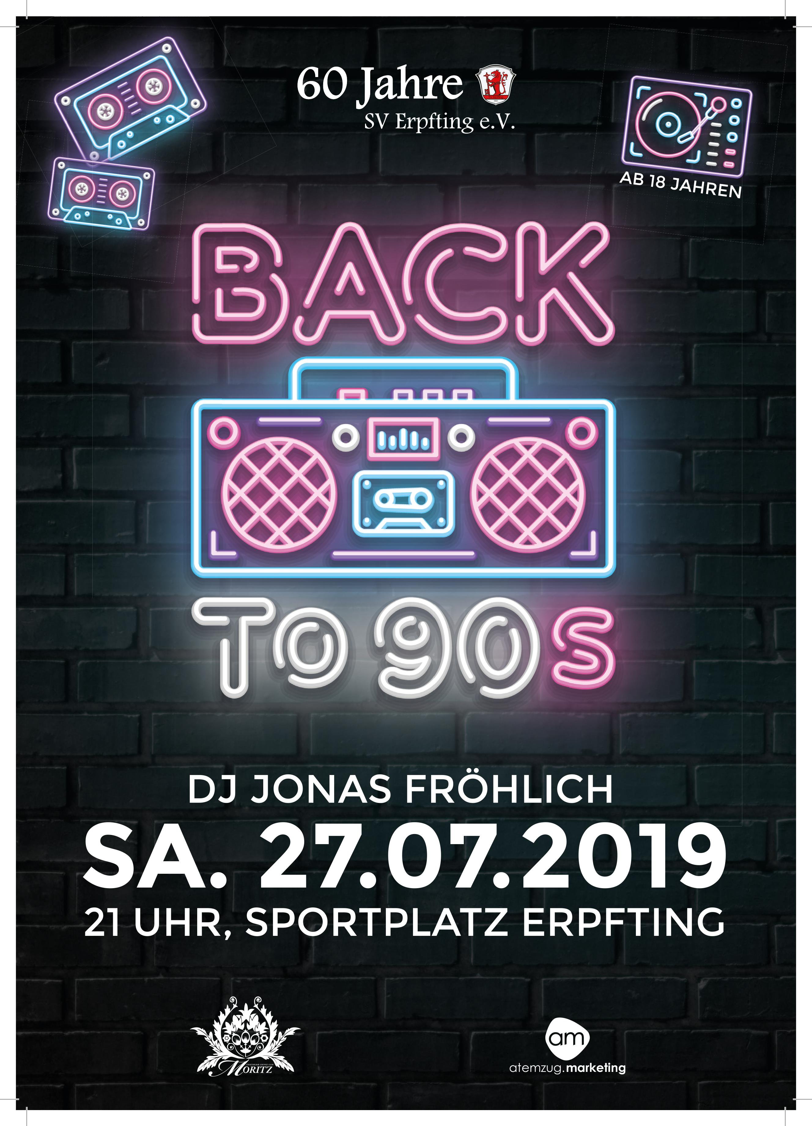 Plakat BACK to 90s